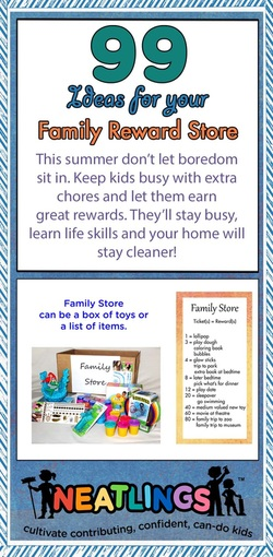 Don't let your kids get bored this summer! There is way too much to do! Allowing your kids to earn rewards for extra chores has many great benefits for both you and your children.