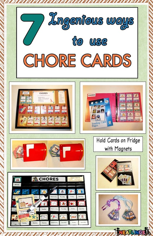Ever wonder how people use chore cards. Check out this list of 7 ingenious ways to make chore cards work for you!