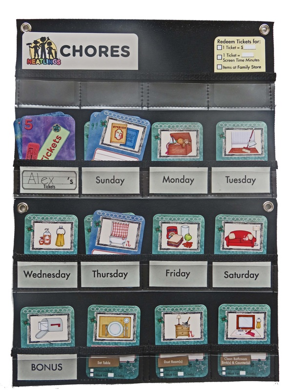 Check out our new Chart Configuration Ideas content page. You'll find great ideas on how to configure NEATLINGS Chore Chart for 1-6 kids!  http://www.neatlings.com/chart-configuration-ideas.html