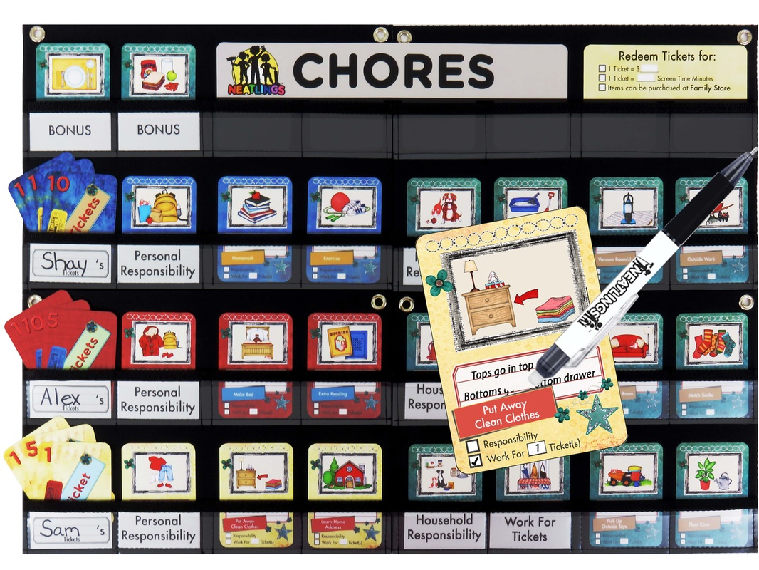 NEATLINGS Chore Chart
