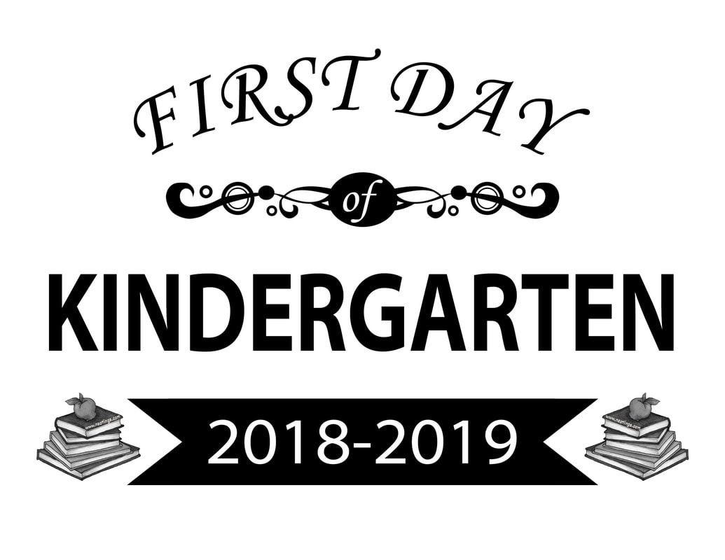 Free Printable First Last Day Of School Signs 2018 2019 Neatlings