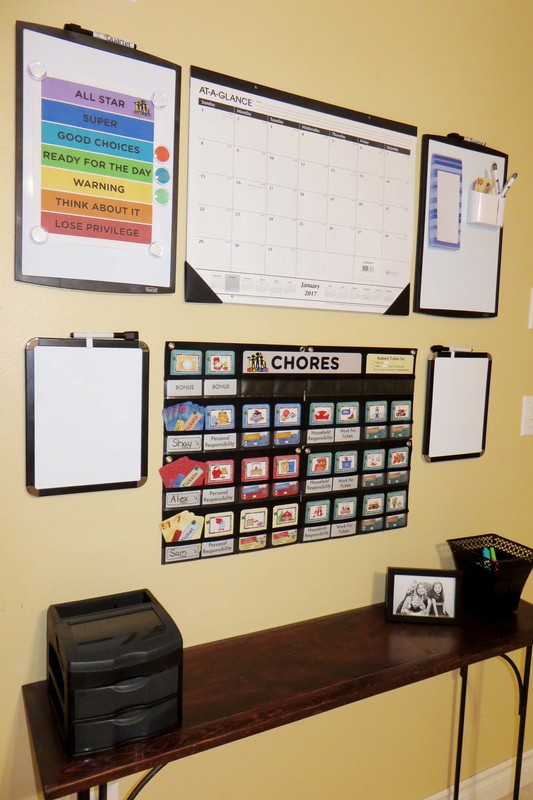 NEATLINGS Chore Chart and Command Center